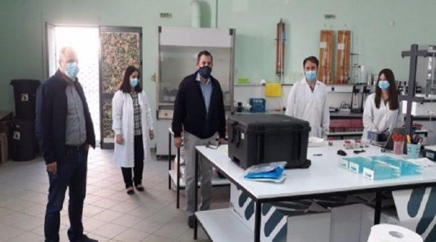 Η Περιφέρεια Δυτικής Ελλάδας στηρίζει το Εδαφολογικό Εργαστήριο Αμαλιάδας