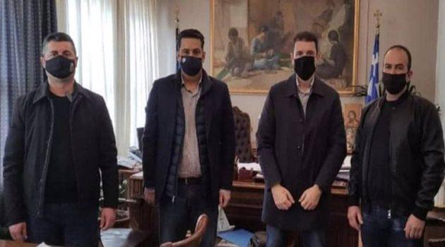 Αγρίνιο: Πρωτοβουλία Γ. Παπαναστασίου για την αναβάθμιση της περιοχής με πυροσβεστικό προσωπικό
