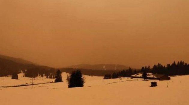 Σύννεφο σκόνης από τη Σαχάρα καλύπτει την Ευρώπη