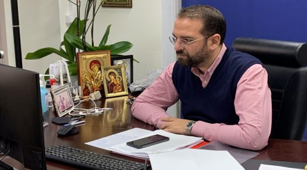 O Νεκτάριος Φαρμάκης για την απώλεια του Νάσου Νασόπουλου