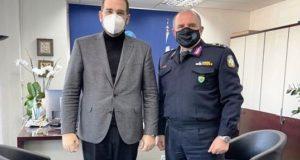 Φαρμάκης: «Η Περιφέρεια συνεργάζεται άριστα με τα Σώματα Ασφαλείας»