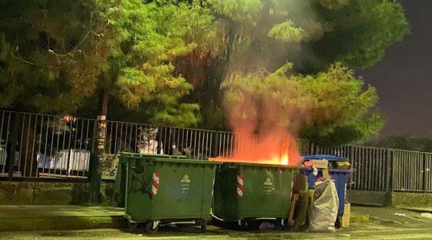 Αγρίνιο: Κλήση δέχθηκε η Πυροσβεστική Υπηρεσία για φωτιά σε κάδο απορριμάτων