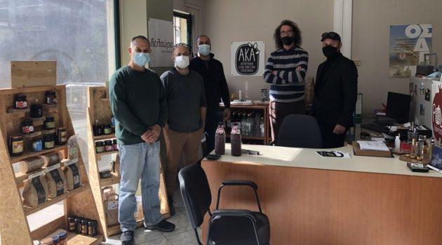 Αιτ/νία: Επισκέψεις Μ. Γούδα σε αγροτικές επιχειρήσεις και συνεταιριστικές οργανώσεις (Photos)