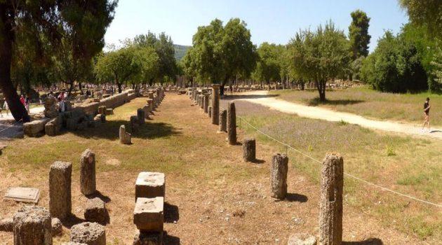 B' φάση ανάδειξης και αναστύλωσης του Γυμνασίου Αρχαίας Ολυμπίας από την Περιφέρεια Δ.Ε.