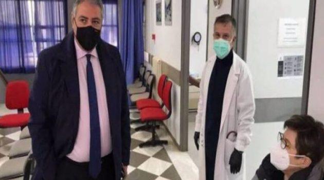 Ο Διοικητής της 6ης Υ.ΠΕ. στα Κέντρα Υγείας Χαλανδρίτσας και Άνω Πόλης Πατρών (Photos)