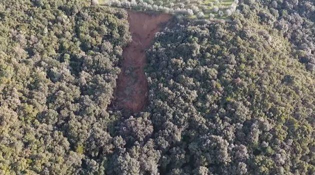 Αμπελάκι Αμφιλοχίας: Καθίζηση εδάφους ανησυχεί τους κατοίκους (Video)