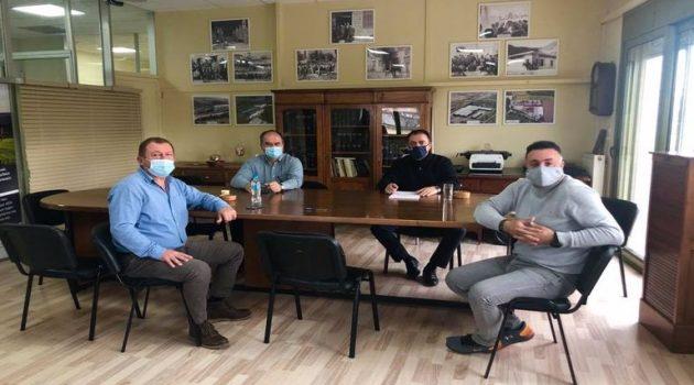 Επίσκεψη Κωνσταντόπουλου στον Αγροτικό Συνεταιρισμό Μεσολογγίου – Ναυπακτίας «Η Ένωση»