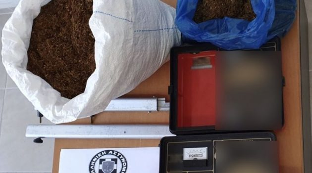 Πάτρα: Σύλληψη για κατοχή 8 κιλών λαθραίου καπνού