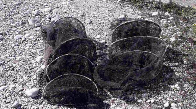 Μεσολόγγι: Παράνομα αλιευτικά εργαλεία βρέθηκαν στη Λιμνοθάλασσα