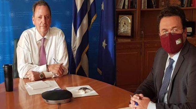 Τηλεδιάσκεψη με την Εθνική Διεπαγγελματική Βάμβακος είχε ο Σπήλιος Λιβανός