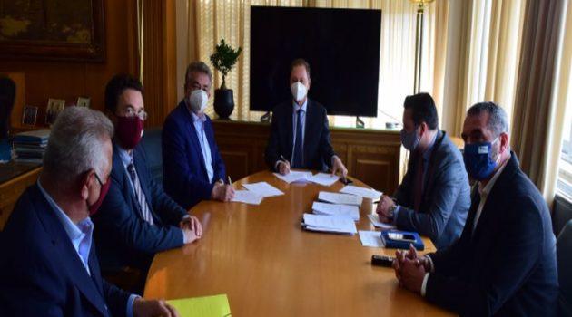 Λιβανός και Αρναουτάκης για την Εκπόνηση Διαχειριστικών Σχεδίων Βόσκησης της Περιφέρειας Κρήτης