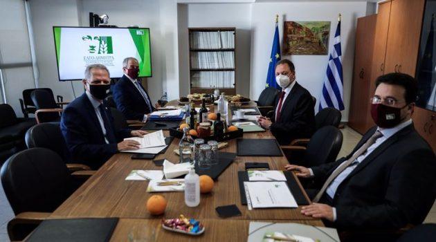 Επίσκεψη στην Κεντρική Υπηρεσία του ΕΛΓΟ – ΔΗΜΗΤΡΑ του Σπήλιου Λιβανού (Photos)