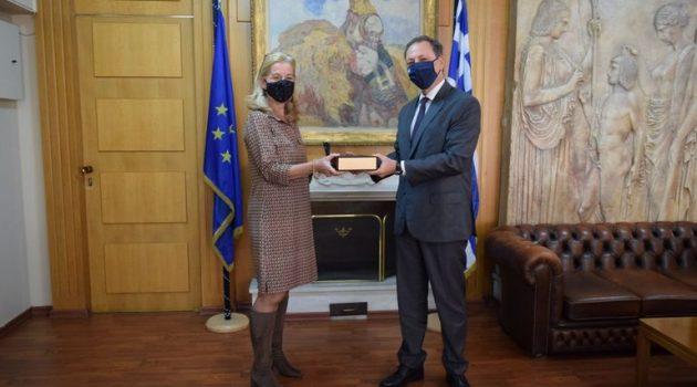 Ανταλλαγή Τεχνογνωσίας στη συνάντηση Λιβανού και Ολλανδής Πρέσβειρας Ρόνερ (Photo)