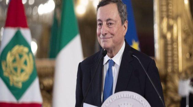 Ορκίστηκε στην Ιταλία η κυβέρνηση Ντράγκι