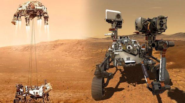 NASA: Προσεδαφίστηκε το Perseverance στον Άρη – Τα 7 λεπτά του τρόμου (Photos)