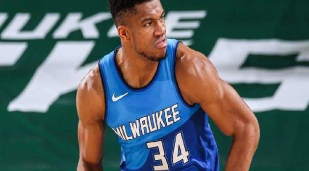 NBA: Με εκπληκτικό Αντετοκούνμπο οι Μπακς σάρωσαν τους Πέισερς