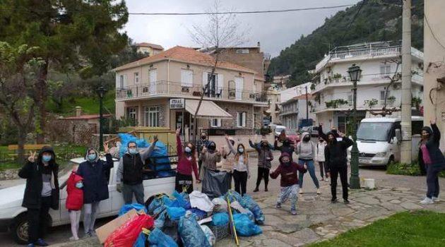 Ναύπακτος: Οι «Save your Hood» καθάρισαν το λόφο της Δεξαμενής (Photos)