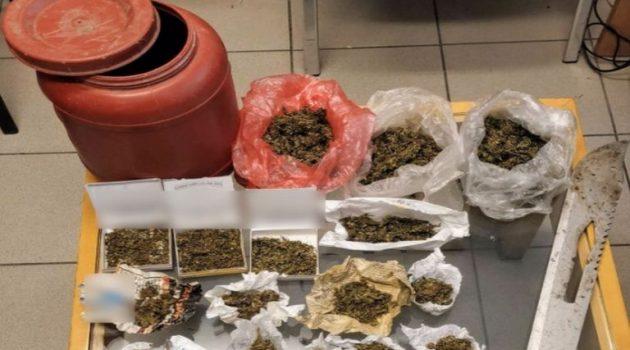 Συνελήφθη άνδρας για κατοχή ναρκωτικών και ένα ξίφος στην Κάτω Αχαΐα (Photos)