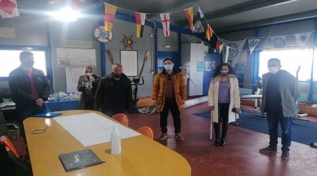 Συζήτηση αναβάθμισης της προπονητικής πίστας κωπηλασίας στο Μεσολόγγι (Photos)