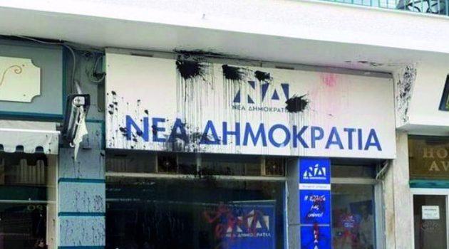 Ο Σπ. Λιβανός, για την επίθεση στα γραφεία της Ν.Δ. στο Μεσολόγγι