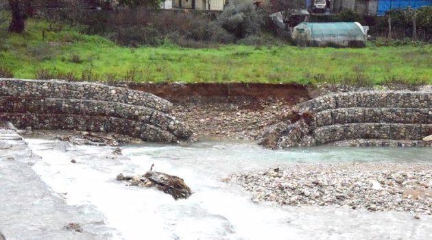 Νέα Αβόρανη: Η ροή του νερού στην Ερμίτσα είναι φυσιολογική πλέον (Photos – Video)