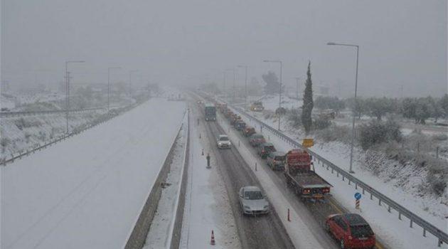 Αποκαταστάθηκε η κυκλοφορία στη Ν.Ε.Ο. Αθηνών – Κορίνθου