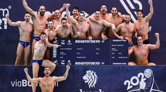 Πόλο: Θρυλική πρόκριση της Εθνικής στους Ολυμπιακούς Αγώνες του Τόκιο!