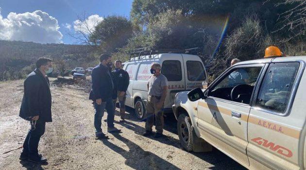 Κλιμάκιο της Ε.Α.Γ.Μ.Ε. σε Άνω Κεράσοβο και άλλες πληγείσες περιοχές από την κακοκαιρία (Photos)