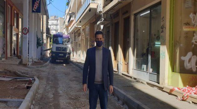 Γ. Παπαναστασίου: «Αλλάζουμε την πόλη με μικρές και μεγάλες παρεμβάσεις» (Photos)