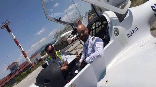 Ιωάννινα: Αυτός είναι ο πιλότος που επέβαινε στο εκπαιδευτικό αεροπλάνο