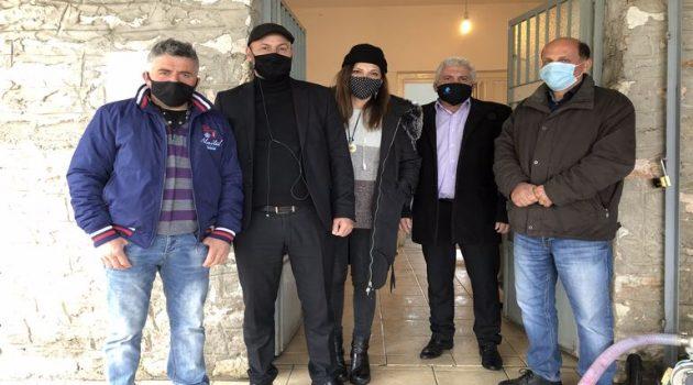 Στο Θέρμο οι Εντεταλμένοι Σύμβουλοι Γιώργος Κοντογιάννης και Μιχαήλ Γούδας (Photos)