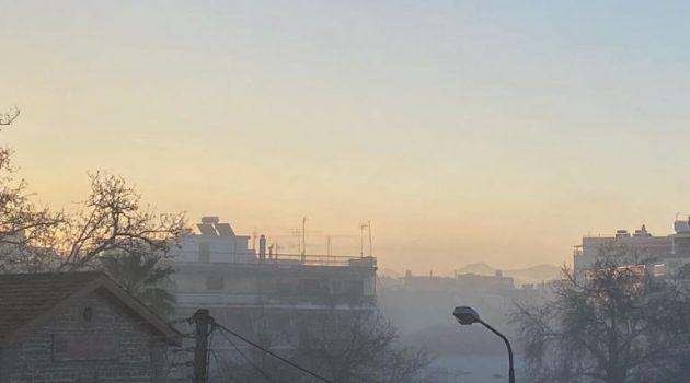 Αγρίνιο: Πέπλο ομίχλης στην πόλη (Photos)