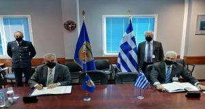 Mνημόνιο Συνεργασίας μεταξύ Περιφέρειας Δ.Ε. και Υπ. Εθνικής Άμυνας