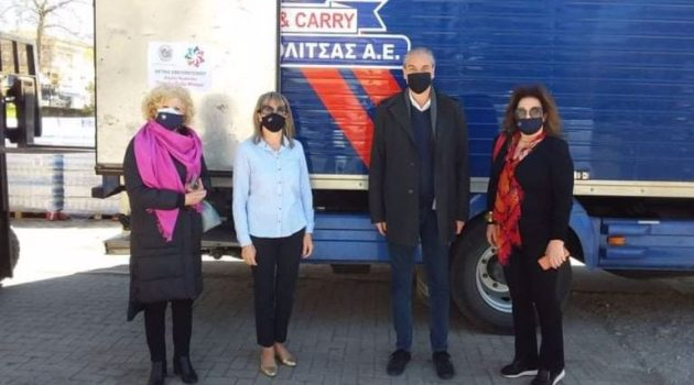 Η Ακτίνα Εθελοντισμού του Δ. Αγρινίου στο πλευρό των κατοίκων του Δ. Ελασσόνας (Photos)