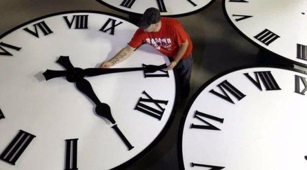 Την Κυριακή 28 Μαρτίου αλλάζει η ώρα