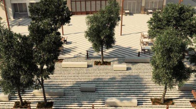 Ανάπλαση και ανάδειξη της Πλατείας Τζαβελλαίων στη Ναύπακτο (Photo)