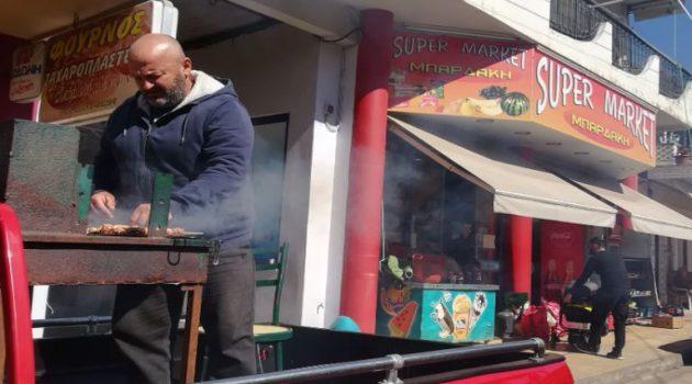 Αγρίνιο: Ποιο «Drink Away»; Σήμερα έχει… «Barbecue Away»! (Photo)