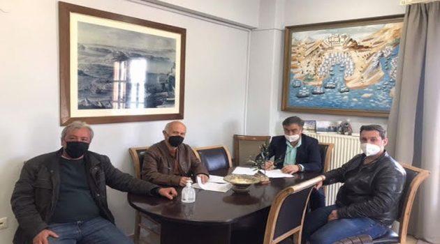 Δ. Ακτίου-Βόνιτσας: Υπογραφή σύμβασης για την Κατασκευή Δικτύου Αποχέτευσης Πογωνιάς