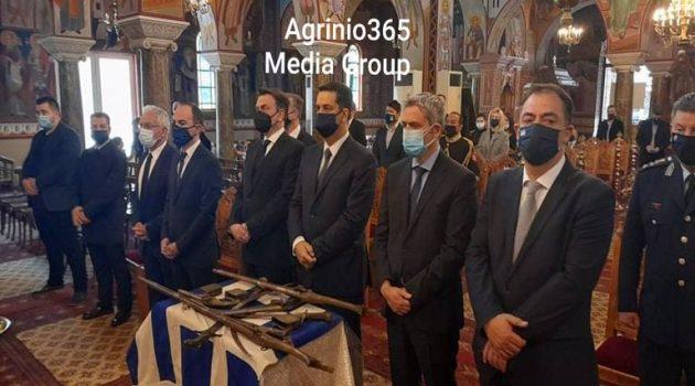 Αγρίνιο – 25η Μαρτίου: Δοξολογία στη Μητρόπολη για τον Εορτασμό της Επετείου (Video – Photos)