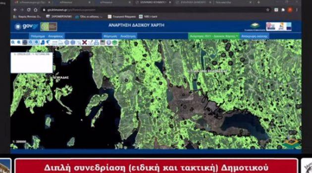 Επί τάπητος οι δασικοί χάρτες στη συνεδρίαση του Δ.Σ. Ξηρομέρου (Video)