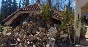 Σεισμός: Λαρισαίος έπεσε από τον δεύτερο όροφο για να σωθεί