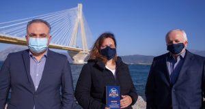 «Best City Awards»: Βραβείο για τη Γέφυρα «Χαρίλαος Τρικούπης» (Video)