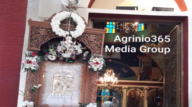 Ι.Ν. Ευαγγελιστρίας Αγρινίου: Με αυστηρή τήρηση των μέτρων ο Εσπερινός του Ευαγγελισμού της Θεοτόκου (Photos)