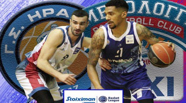 Basket League – Μεσολόγγι: Περισσότερο δημιουργικό και πιο εύστοχο στα τρίποντα