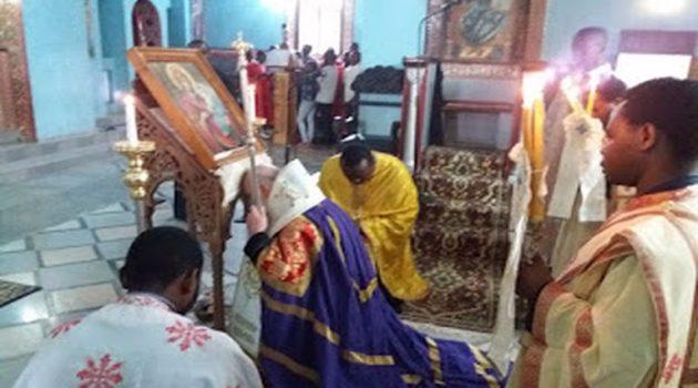 Α' Χαιρετισμοί της Θεοτόκου στον Ιερό Ναό Αγίου Ανδρέα Κανάγκας (Photos)