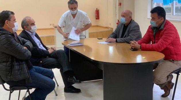 Απ. Κατσιφάρας: «Στην πρώτη γραμμή για την αντιμετώπιση της πανδημίας» (Photos)