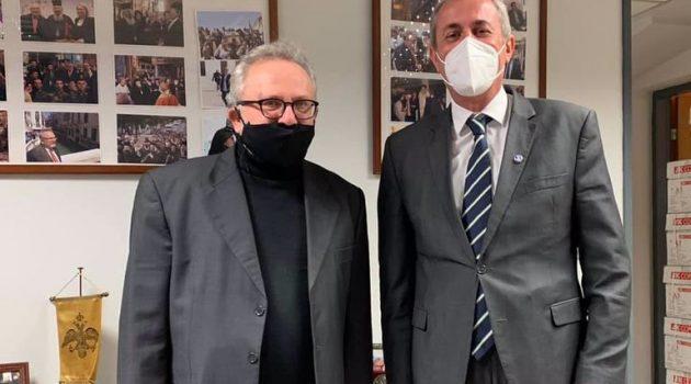 Συνάντηση Κωνσταντάρα με τον Επικεφαλής του Γ.Τ. της Ιεράς Συνόδου