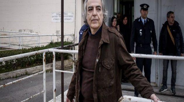 Κουφοντίνας: Έκκληση από αριστερές οργανώσεις να σταματήσει την απεργία πείνας