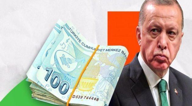 Σε ελεύθερη πτώση Τουρκική λίρα και χρηματιστήριο, καλπάζει ο πληθωρισμός