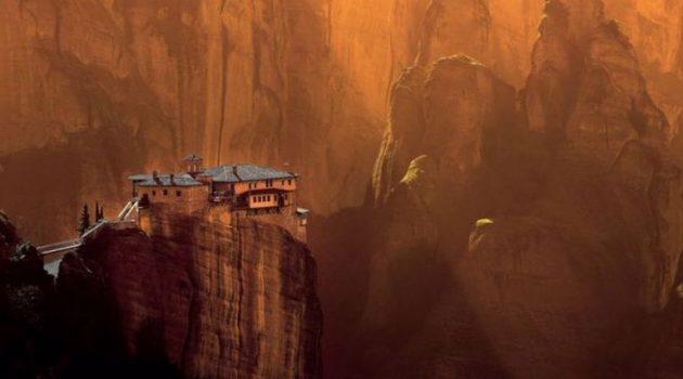 Εντυπωσιακή φωτογραφία απ' τα Μετέωρα στην κορυφή διαγωνισμού της Wikipedia